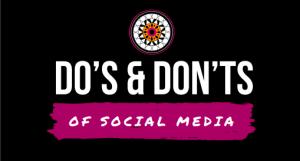 cosa fare e non fare sui social media